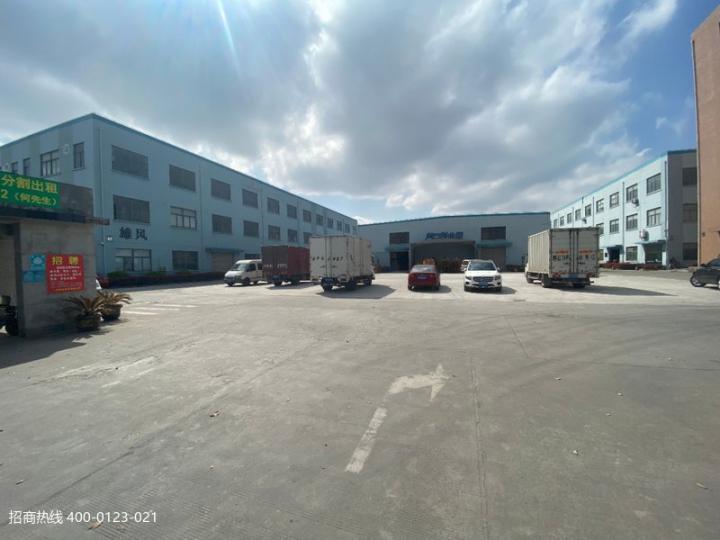 W008 松江九亭一楼小面积厂房仓库出租270平方540平方新空出面积,楼上精装办公