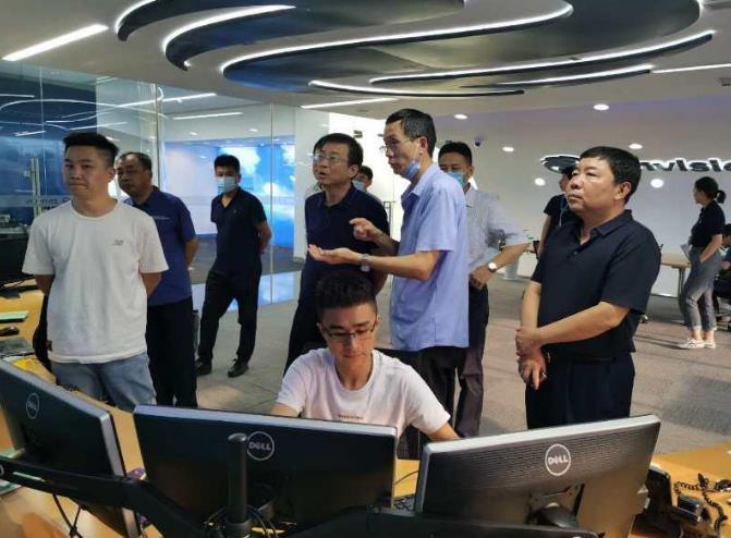 阜蒙县参加市招商团赴上海、江苏等地招商考察