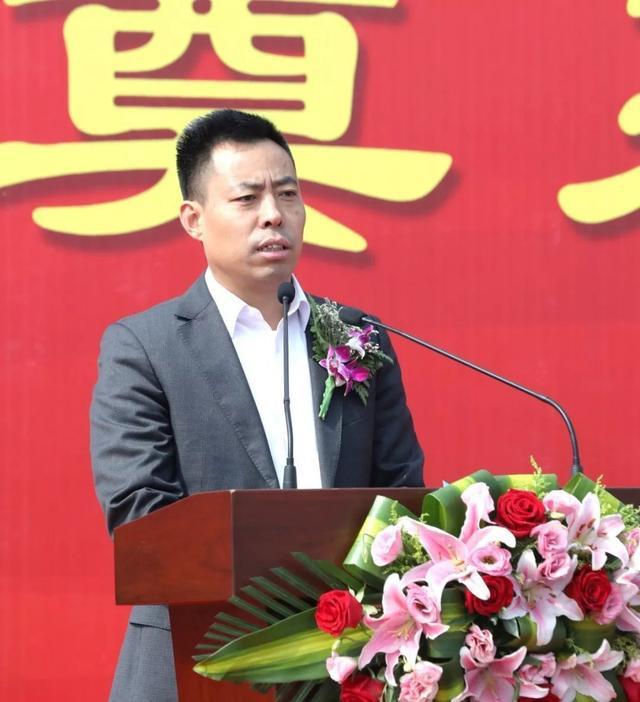 江苏省溧阳经开区新项目开工副市长陈峰出席奠基仪式!