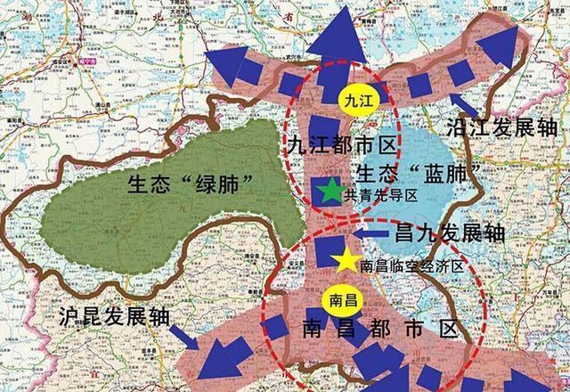 江西十四五规划提出要承接珠三角、长三角、海峡西岸经济产业!