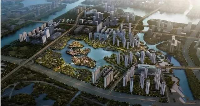 杭州湾新区将成为宁波面向大湾区城市地标长三角中拥有百万级人口的特色新城