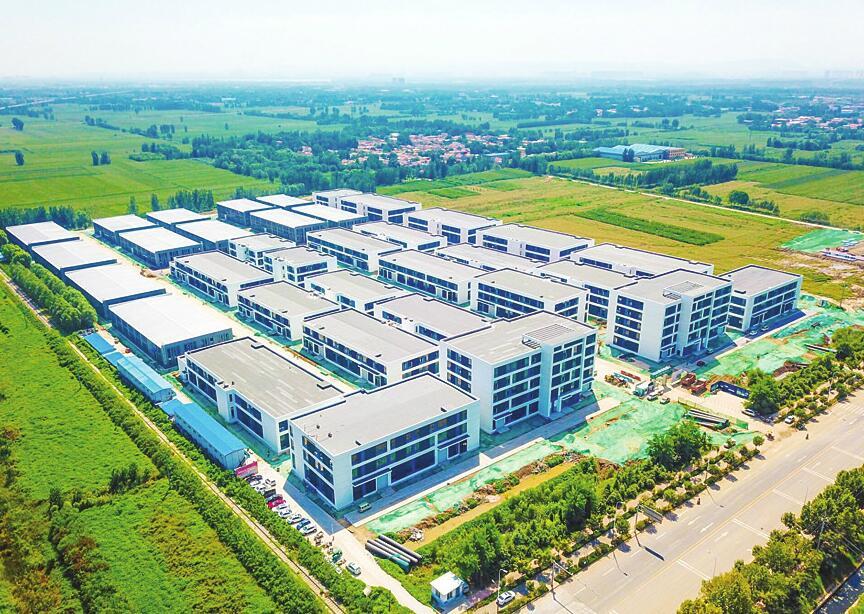 中南高科 山西太原晋中智造未来城 标准厂房出售招商