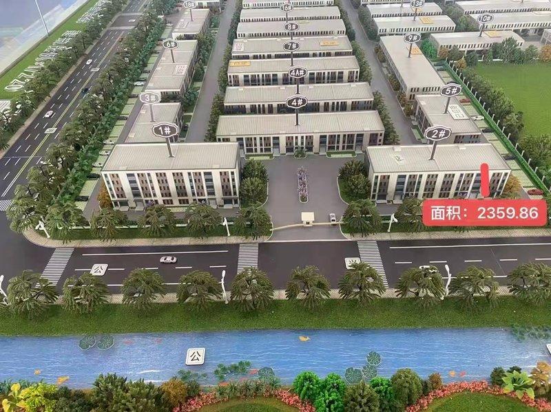 中南高科-泰州靖江新港智造谷产业园  双层厂房出售 2300平 余两套 单价3200元起